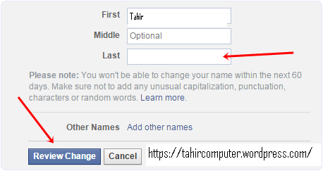 facebook-single-name-settings